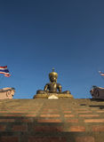 The Big Buddha at phetchabun province,Thailand Royalty Free Stock Photos
