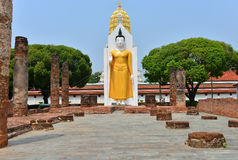 Big buddha. This is a photo of a big buddha in northern thailand Stock Photos