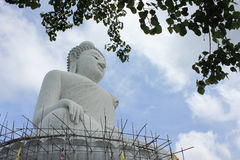 The Big Buddha. From Phuket Royalty Free Stock Images