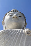 The big buddha phuket and blue sky Royalty Free Stock Photo