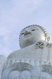 Big Buddha, Phuket. Big buddha at Naga hills, Phuket, Thailand Royalty Free Stock Images