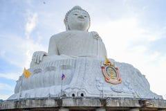 Big Buddha, Phuket. Big buddha at Naga hills, Phuket, Thailand Royalty Free Stock Photo