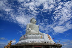 Big buddha Royalty Free Stock Photography