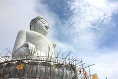 Big Buddha, Phuket, Thailand. Phra Puttamingmongkol Akenakkiri The Big Buddha at Chalong in Phuket.,Thailand Royalty Free Stock Images