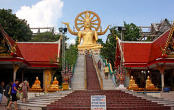 Big Buddha Plai Laem centre, Samui, Thailand Stock Photography