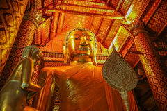 Big Buddha's blessings Stock Photography