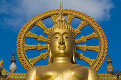 Big buddha on samui island, thailand Stock Photography