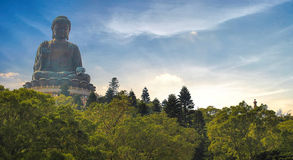 Big Buddha sculpture Stock Photo