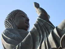 Big Buddha Sideview Stock Photo