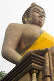 Big buddha sitting at thailand Stock Photo