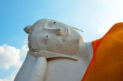 The big buddha sleeping statue Stock Images