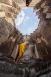 The big Buddha, in Sri Chum temple Stock Image