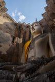The big Buddha, in Sri Chum temple Royalty Free Stock Photography