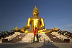 Big Buddha statue Stock Photography
