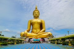 Big Buddha Statue Royalty Free Stock Photos