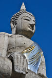 The Big Buddha Statue And Blue Sky Of Thailand. The Big Buddha Statue And Blue Sky Stock Image