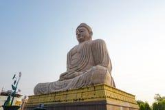 Big Buddha statue in Bodhgaya. India royalty free stock photo