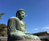 Big Buddha statue in Japan Royalty Free Stock Photo