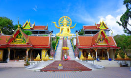 Big buddha statue Royalty Free Stock Image