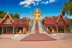 Big Buddha statue on Koh Samui island Stock Photos