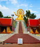 Big buddha statue on koh samui, thailand Stock Photography