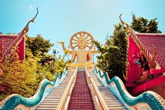 Big Buddha statue in Koh Samui, Thailand Stock Photography