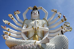 Big buddha statue koh samui thailand Royalty Free Stock Photo