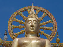 Big Buddha statue on Koh Samui, Thailand Royalty Free Stock Photo