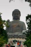 Big Buddha. Statue on the Lantau Island, Hong Kong Stock Photos