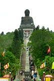 Big Buddha. Statue on the Lantau Island, Hong Kong Royalty Free Stock Photo