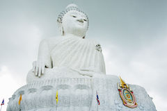 Big buddha. This is a buddha statue made form marble. is statue nLocated on mountainnn stock images