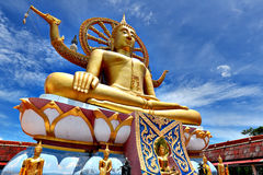 Big Buddha Statue. On the mountain koh samui thailand Royalty Free Stock Image