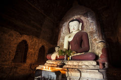 Big Buddha statue in old Town, Myanmar. Royalty Free Stock Images