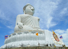 Big Buddha Statue Phuket Thailand Stock Photography