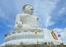 Big Buddha Statue Phuket Thailand Stock Photography