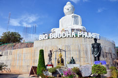 Big Buddha statue or Pra Puttamingmongkol Akenakkiri at Phuket Thailand Royalty Free Stock Image