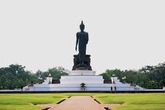 Big buddha statue. At buddha province in Thailand royalty free stock photo
