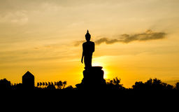 The big Buddha statue Royalty Free Stock Images