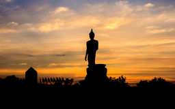 The big Buddha statue Stock Photos