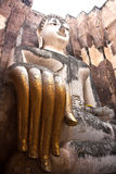 Big buddha statue Sukhothai,Thailand Stock Photography