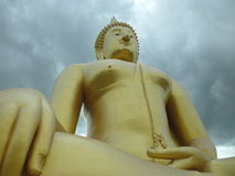 Big buddha statue Royalty Free Stock Photography