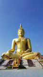 Big Buddha statue in Thailand. Big Buddha statue in Angthong, Thailand royalty free stock photos