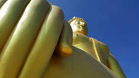 Big Buddha statue in Thailand. Big Buddha statue in Angthong, Thailand royalty free stock image