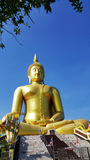 Big Buddha statue in Thailand. Big Buddha statue in Angthong, Thailand royalty free stock photo