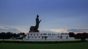 Big buddha statue. Royalty Free Stock Photo