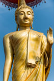 The big buddha statue Stock Image