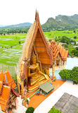 Big Buddha Statue at Wat Tham Sua Temple Royalty Free Stock Images