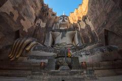 The big Buddha at Sukhothai province, Thailand Royalty Free Stock Image