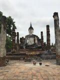 Big Buddha in Sukhothai Thailand stock photo