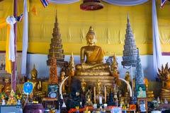 Big Buddha temple complex Stock Photos